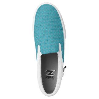 Blaue Punkte Slip-On Sneaker