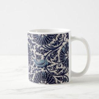 Blaue Rebe-Tasse Kaffeetasse