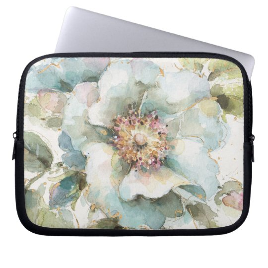Blaue Rose Laptopschutzhülle