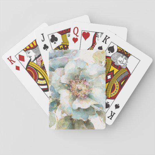 Blaue Rose Pokerkarten