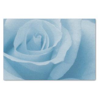 Blaue Rosen-Blüte Seidenpapier