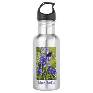 Blaue rostfreie Wasser-Flasche Bell 18oz Edelstahlflasche