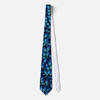 Blaue Schmetterlings-Krawatte Krawatte
