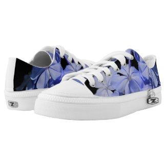 Blaue Schritte Niedrig-geschnittene Sneaker