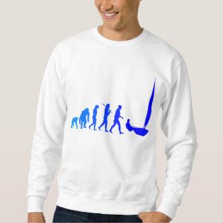 blaue Segelgeschenke und -T-Shirts der Sweatshirt