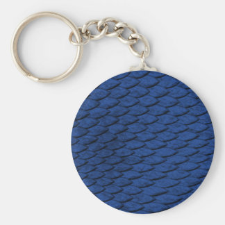 Blaue Skalen Schlüsselanhänger