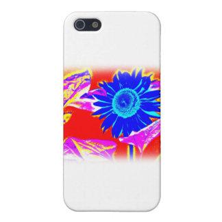 Blaue Sonnenblume Etui Fürs iPhone 5