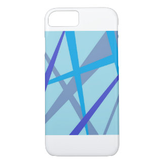 Blaue Strahlen iPhone 8/7 Hülle