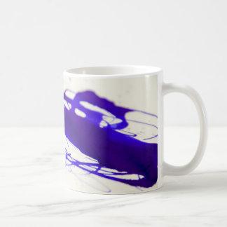 Blaue Tinten-Fleck-Kaffee-Tasse Kaffeetasse