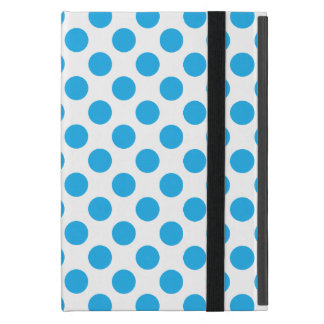 Blaue Tupfen Etui Fürs iPad Mini