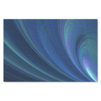 Blaue und grüne weiche Sand-Wellen Seidenpapier