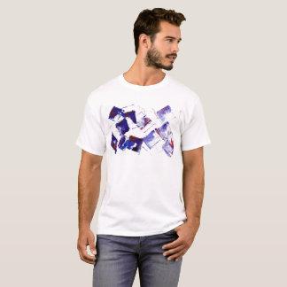 Blaue und lila Trauben und Zitat der T-Shirt