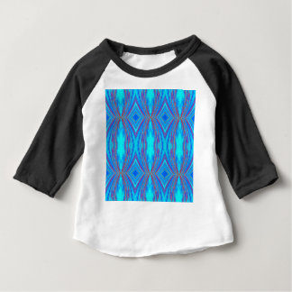 Blaue und rosa Beschaffenheit Baby T-shirt