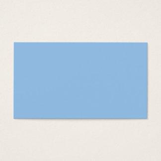 Blaue und rosa Farben Visitenkarte