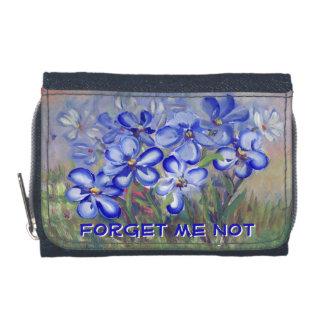 Blaue Wildblumen in einer Feld-feine Kunst-Malerei