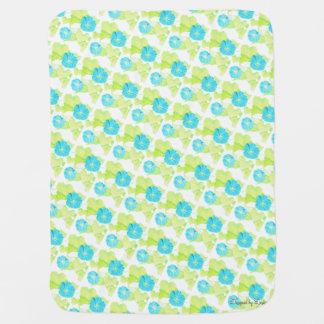 Blaue Winden-Garten-Baby-Decke Kinderwagendecke