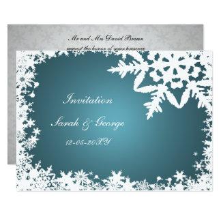 winterhochzeit einladungen | zazzle.ch, Einladung