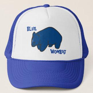 Blaue Wombat Kappe