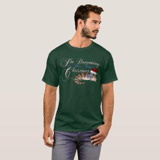 Blaue Zunge Skink Weihnachten T-Shirt