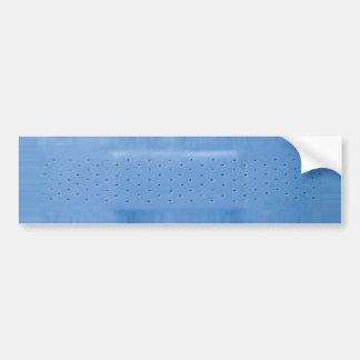 Blauer Band-HilfeAutoaufkleber Autoaufkleber