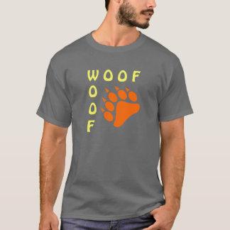 Blauer Bärenpranke-Doppelt-Schuss-homosexueller T-Shirt