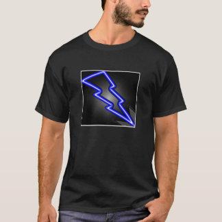 Blauer Blitz T-Shirt
