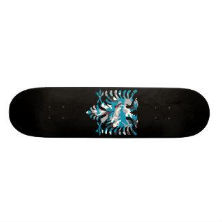 Blauer Camouflage-Albaner-Adler 20,1 Cm Skateboard Deck