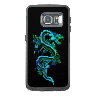 Blauer chinesischer Drache Otterbox Samsung S6