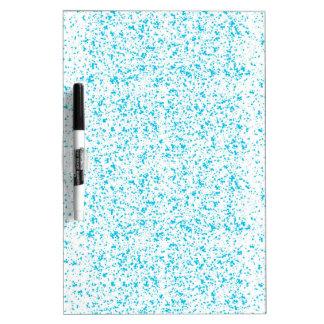 Blauer dalmatinischer Druck-trockenes Trockenlöschtafel