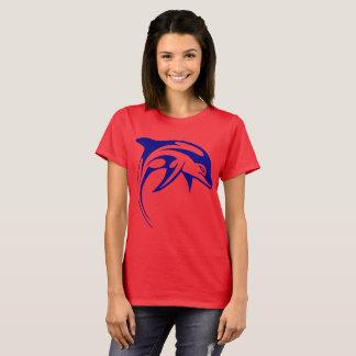 Blauer Delphin T-Shirt