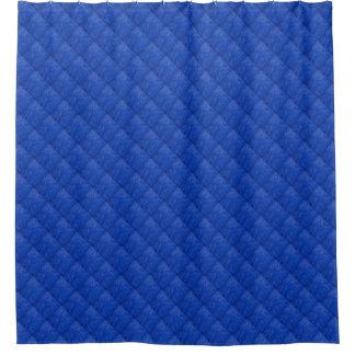 Blauer Diamant-Muster-Duschvorhang Duschvorhang