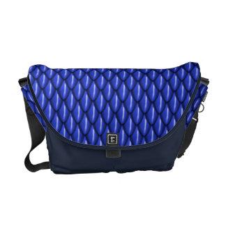 Blauer Drache stuft Bote-Tasche ein Kurier Taschen
