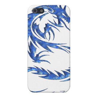 Blauer Dracheipod-Kasten Hülle Fürs iPhone 5