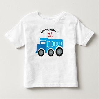Blauer Dumbstruck Geburtstags-T - Shirt