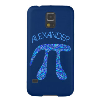 Blauer dunkelblauer Name des Samsung S5 Hülle