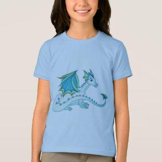 Blauer Eis-Drache-T - Shirt
