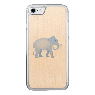 Blauer Elefant von Indien Carved iPhone 8/7 Hülle