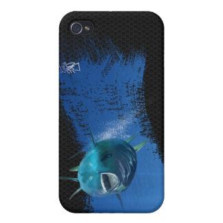 Blauer Flossenthunfisch iPhone 4 Hüllen