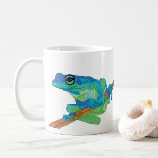 Blauer Frosch Kaffeetasse