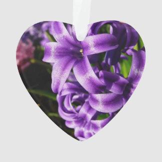 Blauer Frühling der Hyazinthen-II mit Blumen Ornament