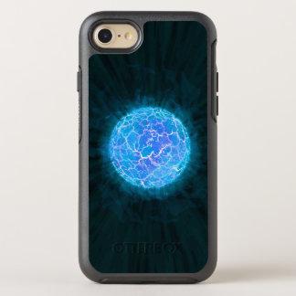 Blauer gefrorener Planet OtterBox Symmetry iPhone 7 Hülle