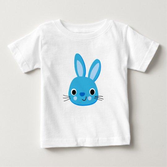 blauer Häschenbaby-T - Shirt