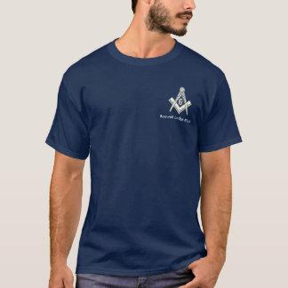 Blauer Häuschen-FreimaurerT - Shirt