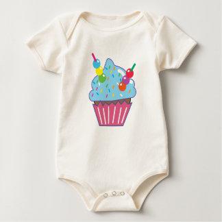 Blauer Hawaii-KLEINER KUCHEN Baby Strampler