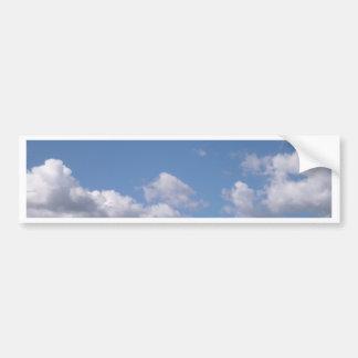 blauer Himmel Autoaufkleber
