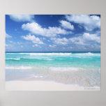 Blauer Himmel und Meer 14 Poster