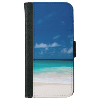 Blauer Himmel und Türkis-Wasser Geldbeutel Hülle Für Das iPhone 6/6s