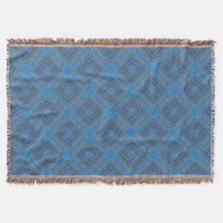 blauer hölzerner Hintergrund Decke