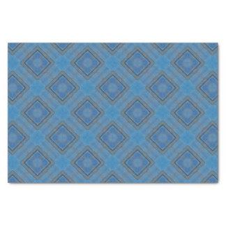 blauer hölzerner Hintergrund Seidenpapier