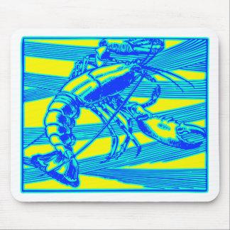 Blauer Hummer-Maine-Ozean Krebs Mauspad